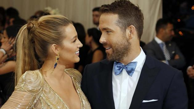 Blake Lively and Ryan Reynolds arrive at the Metropolitan Museum of Art Costume Institute Gala - Rei Kawakubo/Comme des Garcons: Art of the In-Between.(REUTERS)