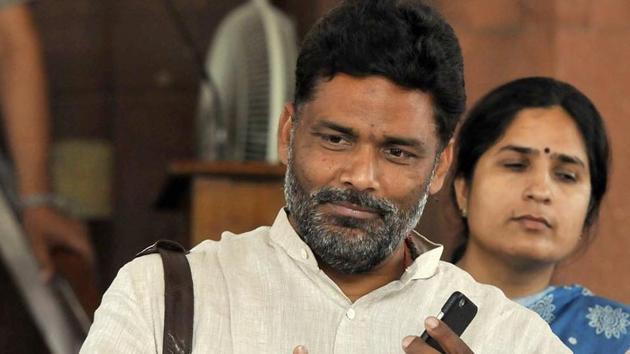 Expelled RJD leader Pappu Yadav.