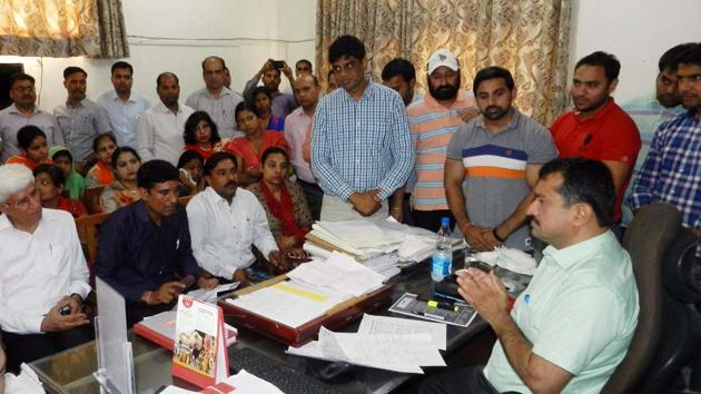 The parents and school representatives met the SDM (north) in his office earlier this week too.
