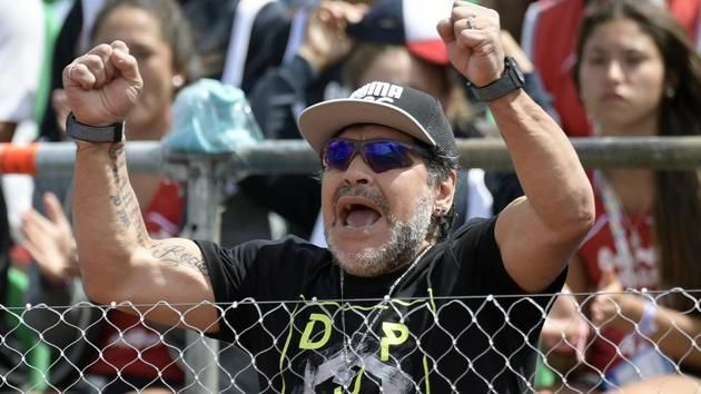 Diego Maradona is scheduled to visit Kolkata later this year. This will be the former Argentine footballer's second visit to the soccer-mad city.(AFP)