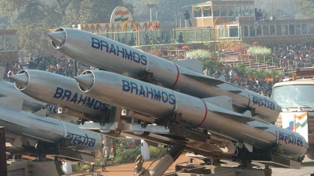 For the second consecutive day, the Indian Army on Wednesday successfully test fired an advanced version of the Brahmos land-attack cruise missile in the Andaman and Nicobar Islands.(PTI Representative Photo)