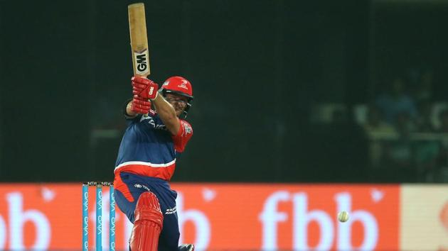 Corey Anderson's unbeaten 24-ball 41 guided Delhi Daredevils to a six-wicket win over Sunrisers Hyderabad on Tuesday. DD now have three wins from nine IPL 2017 games.(BCCI)