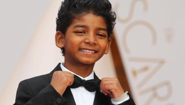 Sunny Pawar at the 89th Academy Awards event.(REUTERS)