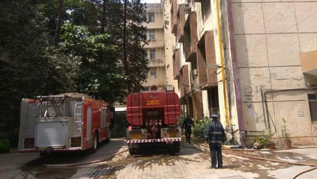 Cooling operations are ongoing, said officials.(ANI)