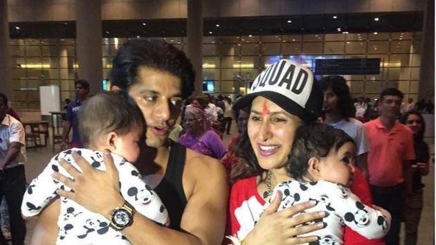 Karanvir Bohra and his family.