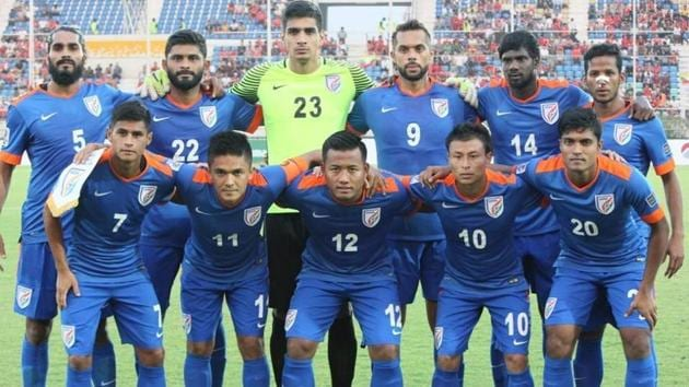 India's rise in the FIFA world rankings has been propelled by recent away wins over Cambodia and Myanmar.(AIFF)