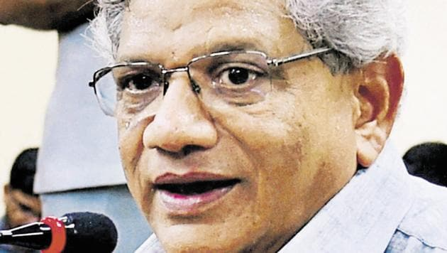 CPI (M) general secretary Sitaram Yechury(PTI File Photo)