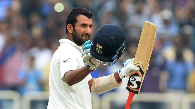 Cheteshwar Pujara has amassed 3798 runs in 48 Tests at an average of 51 with 11 centuries.(AFP)