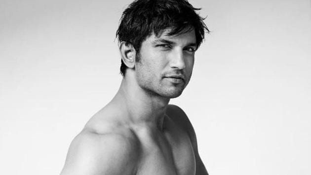 Sushant SIngh Rajput poses for Mario Testino's towel series.