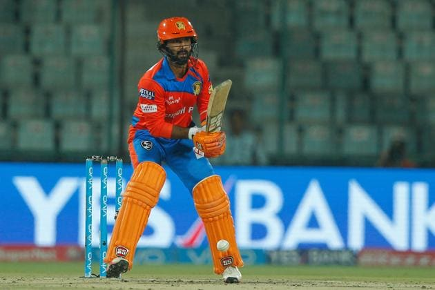 Dinesh Karthik slammed his 14th fifty as Gujarat Lions scored 208/7 vs Delhi Daredevils in an IPL 2017 match on Thursday.(BCCI)