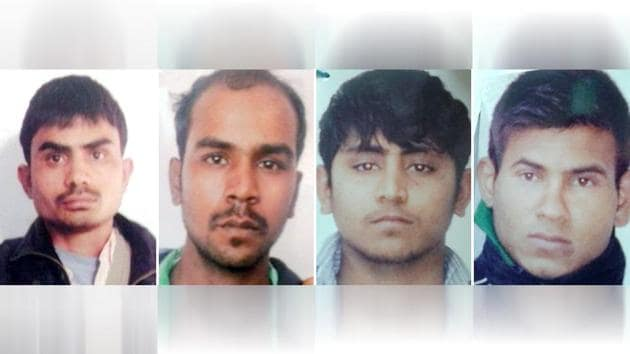 The four convicts of December 16 Delhi gang rape will be kept under suicide watch in Tihar Jail.(HT File)