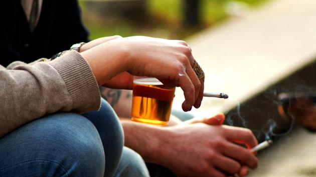 Social smoking may not be any better for your health in the long term.(Shutterstock)