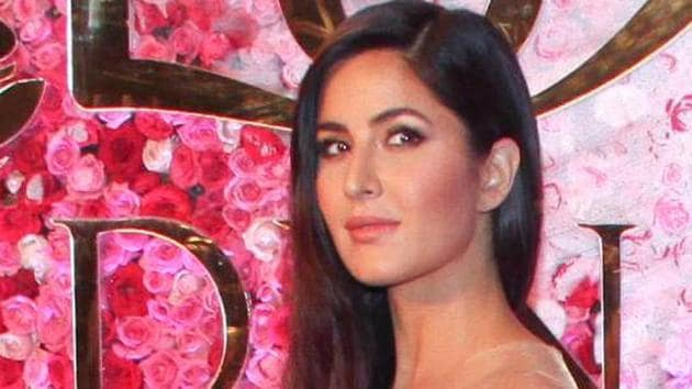 """Katrina Kaif says one needs """"to have good time in a photo shoot.""""(HT Photo)"""