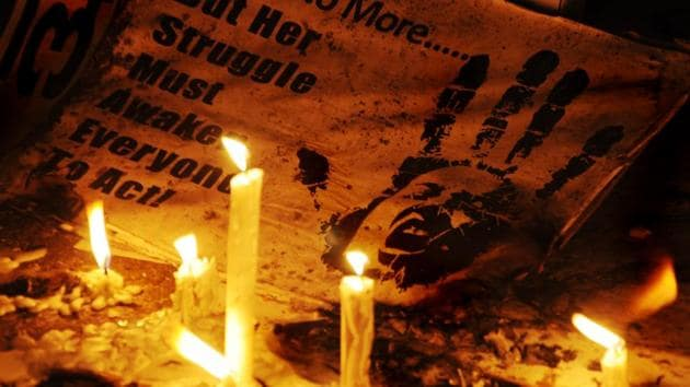 The brutal gangrape and murder on the streets of the Capital shook the nation's conscience, prompting people to come out on the streets to demand a safe city for women.(Saarthak Aurora/ HT file)