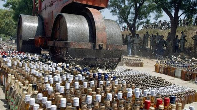 Mizoram excise and narcotics department has kept the data on consumption of liquor and revenue earned confidential because it does not want church and prohibitionist NGOs to know how much revenue the state earns from liquor sale.(REUTERS Photo for representational purpose)