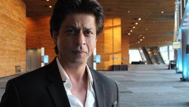 Shah Rukh Khan poses for a photo after giving a talk at a TED Conference in Vancouver on April 27, 2017.(AFP)