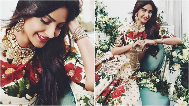 Sonam looks ethereal in the gorgeous dresses.(Instagram)