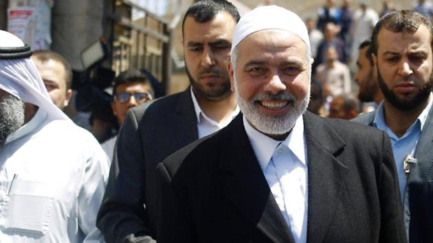 Haniya, seen as a pragmatist within the movement, is expected to remain in the Gaza Strip, the Palestinian enclave run by Hamas since 2007.(AFP File Photo)