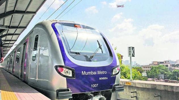 umbai Metro Rail Corporation (MMRC) officials said that they will replace any trees chopped for the project.(HT File Photo)