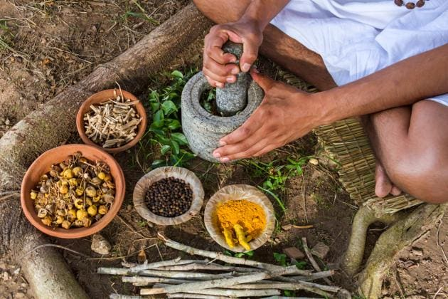 Increasing lifestyle diseases such as diabetes, heart disease and obesity is fuelling the popularity of Ayurveda and yoga.(Shutterstock)