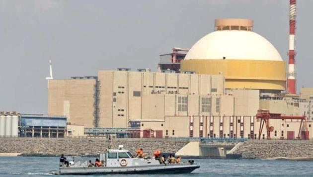 The second unit of the Kudankulam power plant was closed due to water and steam leakage.(AP File)