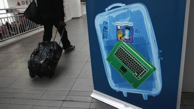 US and Britain banned large electronic devices on board flights from up to a dozen Middle East nations.(AFP File Photo)