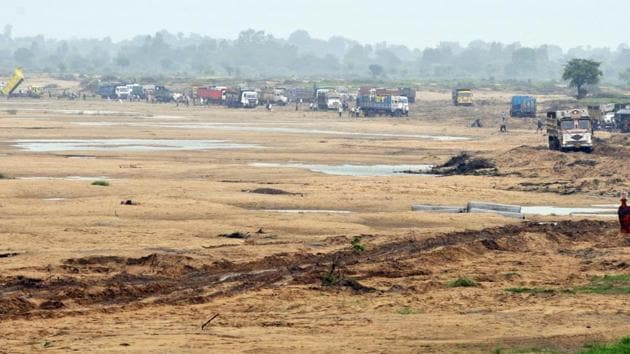 Illegal sand mining has led not only to a fall in water level in river beds and basins, but also affected flow of rivers across the state.