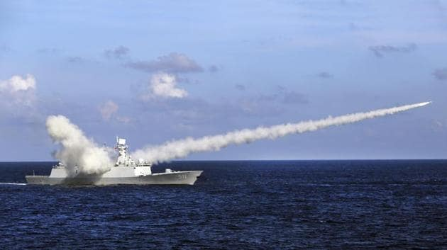 "The test in the Bohai Sea was conducted to ""raise the operational capability of the armed forces and effectively respond to threats to national security.(AFP Representative Photo)"
