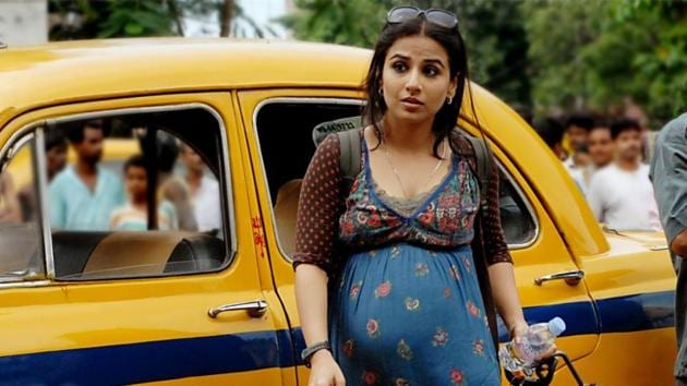 Vidya Balan in the movie Kahaani(http://www.india-forums.com/)