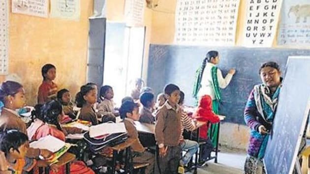 The CM directed the additional chief secretary (school education) to discuss the modalities of the new transfer policy.(HT Representative Image)