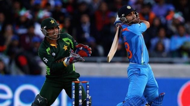 India and Pakistan have not played a bilateral series since 2012-13 season.(ICC via Getty Images)