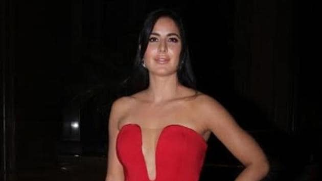 Actor Katrina Kaif during the Red Carpet of Hello Hall of Fame Awards 2017 in Mumbai on March 28, 2017.(IANS)