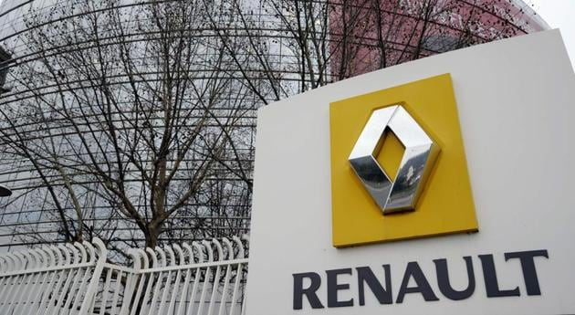 (FILES) This file photo taken on January 18, 2013 shows a partial view of French car maker Renault headquarters in Boulogne-Billancourt, west of Paris. French car-maker Renault is suspected of installing a device to cheat emmsission tests, according to French police as quopted by French newspaper Liberation on March 15, 2017. / AFP PHOTO / Bertrand GUAY