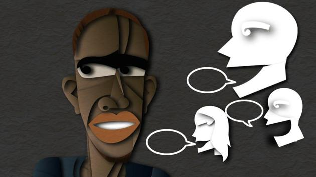 Ezeugo Nnmadi Lawrence writes about the racism he faces everyday as a black man in India.(Illustration: Malay Karmakar)