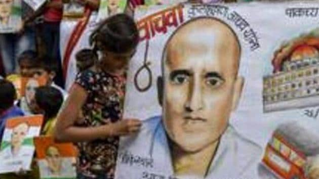 The ICJ asked Pakistan not to execute Jadhav pending its final decision and inform it of the steps being taken to implement the order.(Kunal Patil/HT Photo)