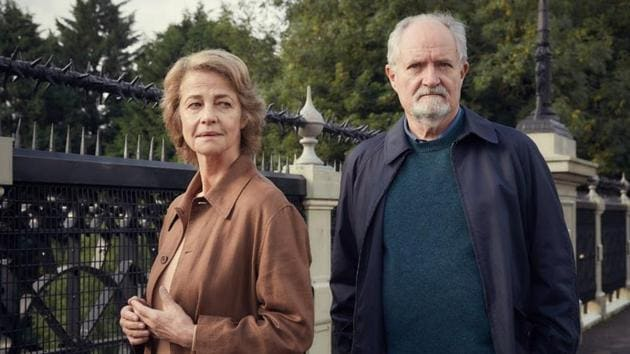 The performances are engaging, led by Jim Broadbent and Charlotte Rampling, as the older Veronica Ford, a girl Broadbent dates in college.