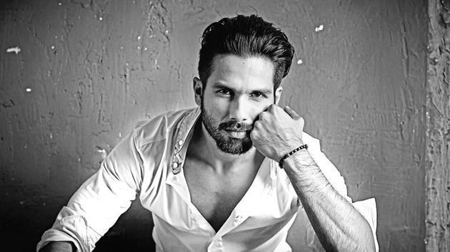 Shahid Kapoor says he feels fortunate that he has been in Bollywood for 14 years now.(Rohan Shrestha)