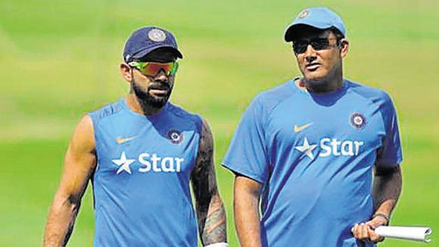 Virat Kohli, Indian Cricket Team captain, and coach Anil Kumble - in a discussion with BCCI's CoA last week - have pressed for the selection of a fast bowling coach.(AFP)