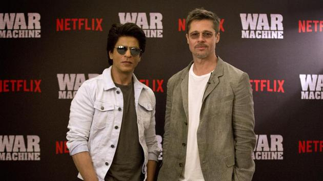 Brad Pitt and Shah Rukh Khan, two of the world's biggest movie stars came together to talk about the past, present and future.