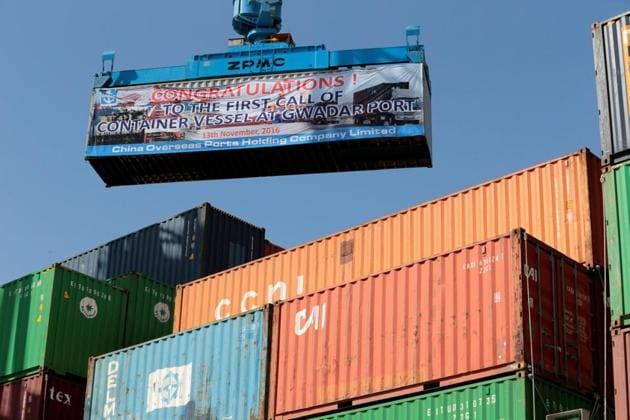 The report flagged concerns about social and environmental safeguards and the route of the CPEC passing through Kashmir.(Reuters File)