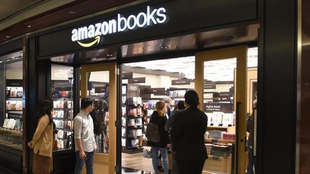 Amazon opens first brick and mortar New York bookshop