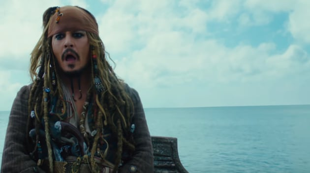 Johnny Depp's lost at sea, his career is drowning, he's walking the plant (pick your favourite metaphor).