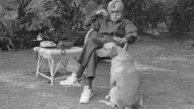 'Super cop' KPS Gill, often credited with rooting out militancy in Punjab, died in a hospital in New Delhi on Friday. He was 82.(HT File Photo)