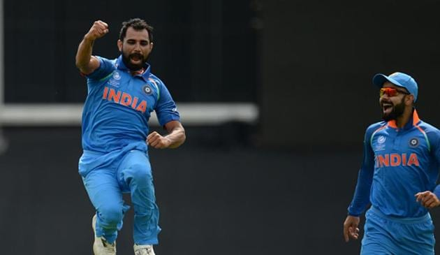 <p>India defeated New Zealand by 45 runs (D/L) in their first ICC Champions Trophy 2017 warm-up game at the Kennington Oval, London. </p> (Getty Images)