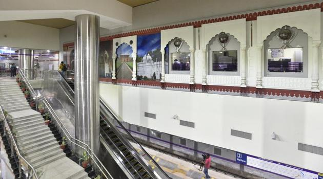 <p>The Heritage Line, an extension of the existing Violet Line of the Metro, was inaugurated by chief minister Arvind Kejriwal and Union urban development...