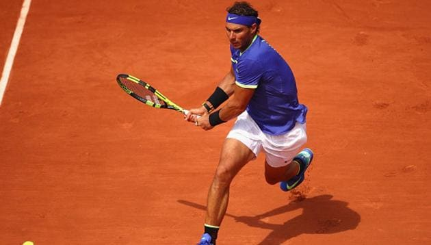<p>Rafael Nadal started his bid to win a 10th title at Roland Garros with a 6-1, 6-4, 6-1 win over Benoit Paire. </p> (Getty Images)