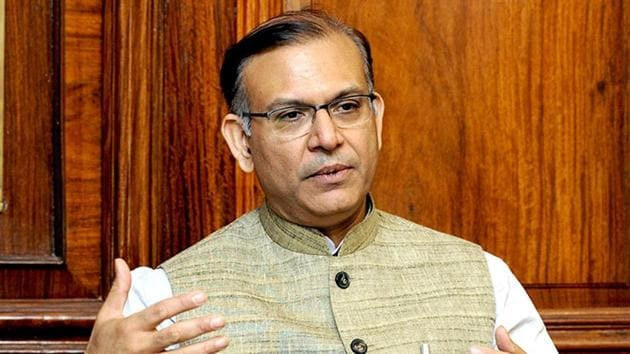 Minister of state for civil aviation Jayant Sinha.(File Photo)