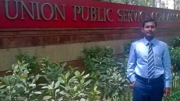 Gopala Krishna Ronanki has been a teacher in a primary school for the last 11 years. He has been ranked number three in the all-India level, in the Union Public Service Commission's civil services 2016 examination(Handout)(Handout)