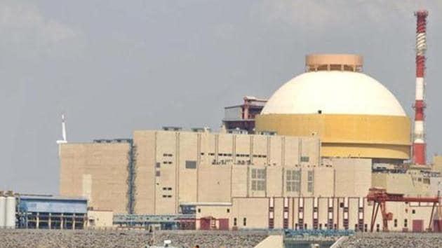 The Kudankulam atomic power station in Tamil Nadu.(AP File)