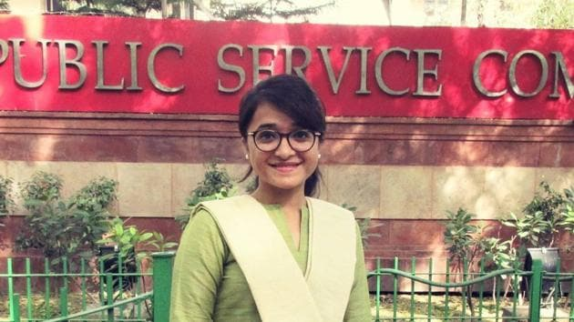 Ummul Kher, 28, got All India Rank 420, and hopes to get IAS under disability quota.(Photo: Sourced)